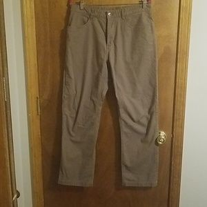 Men's northface khaki pants